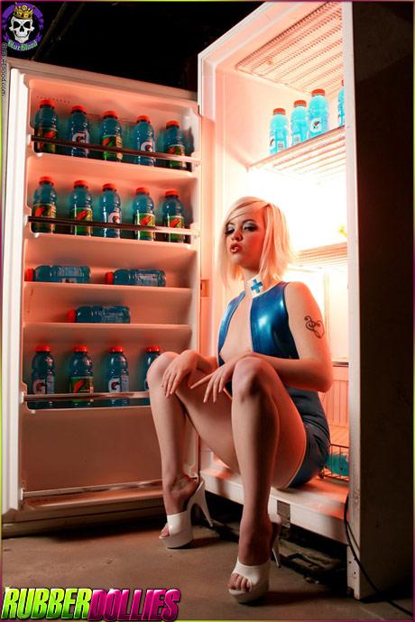rubberdollies laurenwk refrigerator