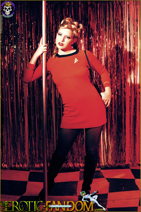 eroticfandom jenni lee sexy star trek